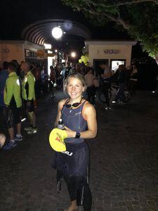 Lise var i kjempeform før starten av Swissman Xtreme Triathlon. FOTO: Mats Johansen/PRIVAT
