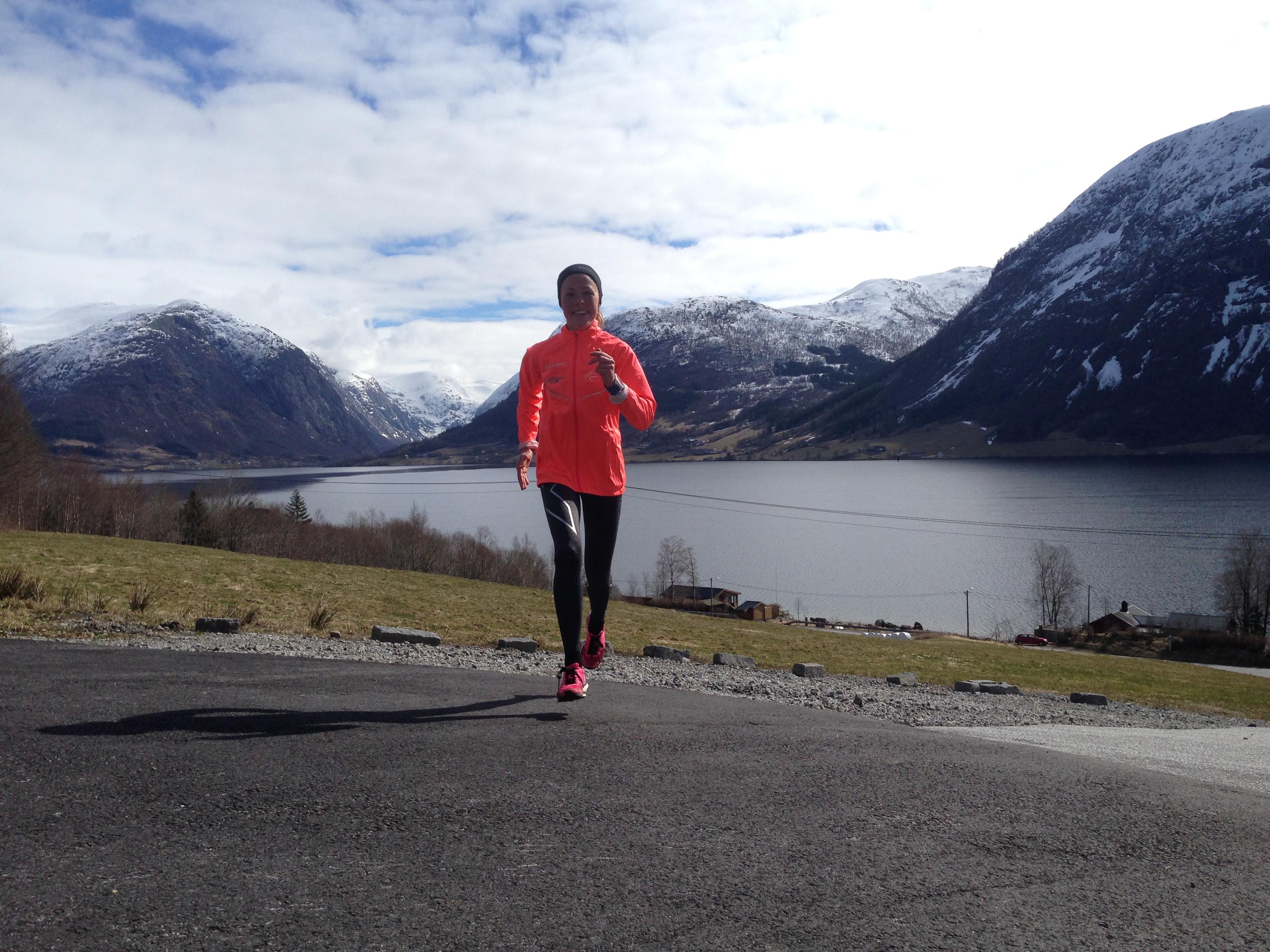 Norges beste motbakkeløper Eli-Anne Dvergsdal er ambassadør for Maxim.