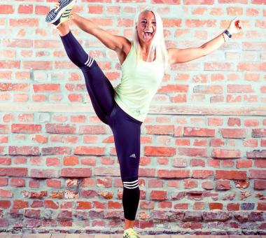 Andrea Hegna, fitness, styrke, rumpetrening