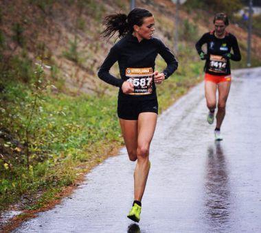 Veronica Blom, halvmaraton