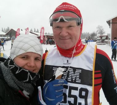 Norges uheldigste skiløper gir seg aldri
