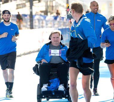 Enerly gjennomførte Oslo Maraton for Team Maxim