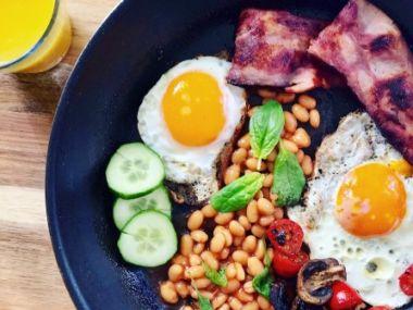 sunn frokost før trening